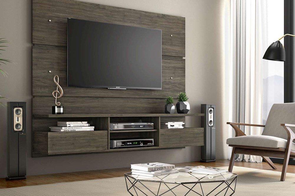 painel de tv decoração