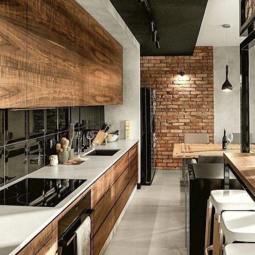 cozinha americana madeira demolição
